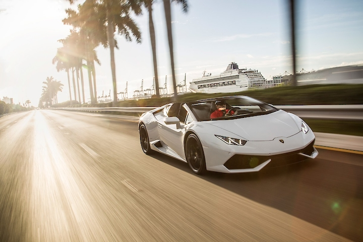Real Luxury - Tour in Lamborghini or Ferrari